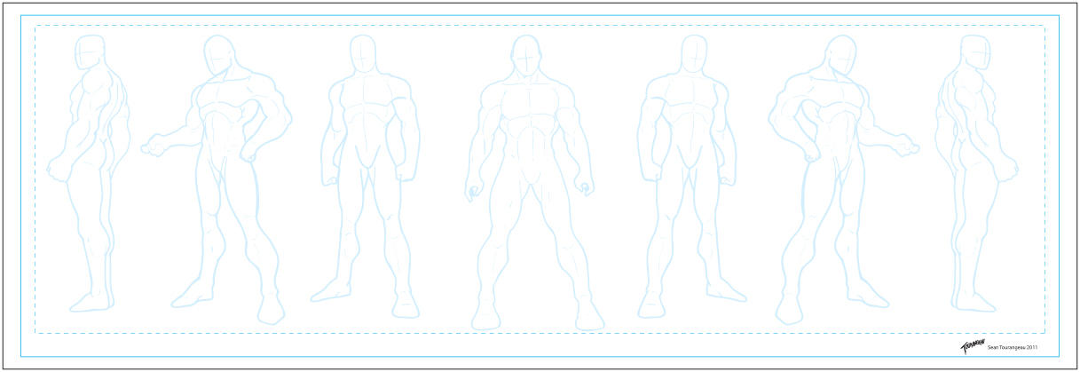 Anime Character Design Template : Character templates male by stourangeau on deviantart