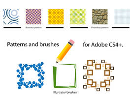 CS4 Brushes and Patterns by diegokman