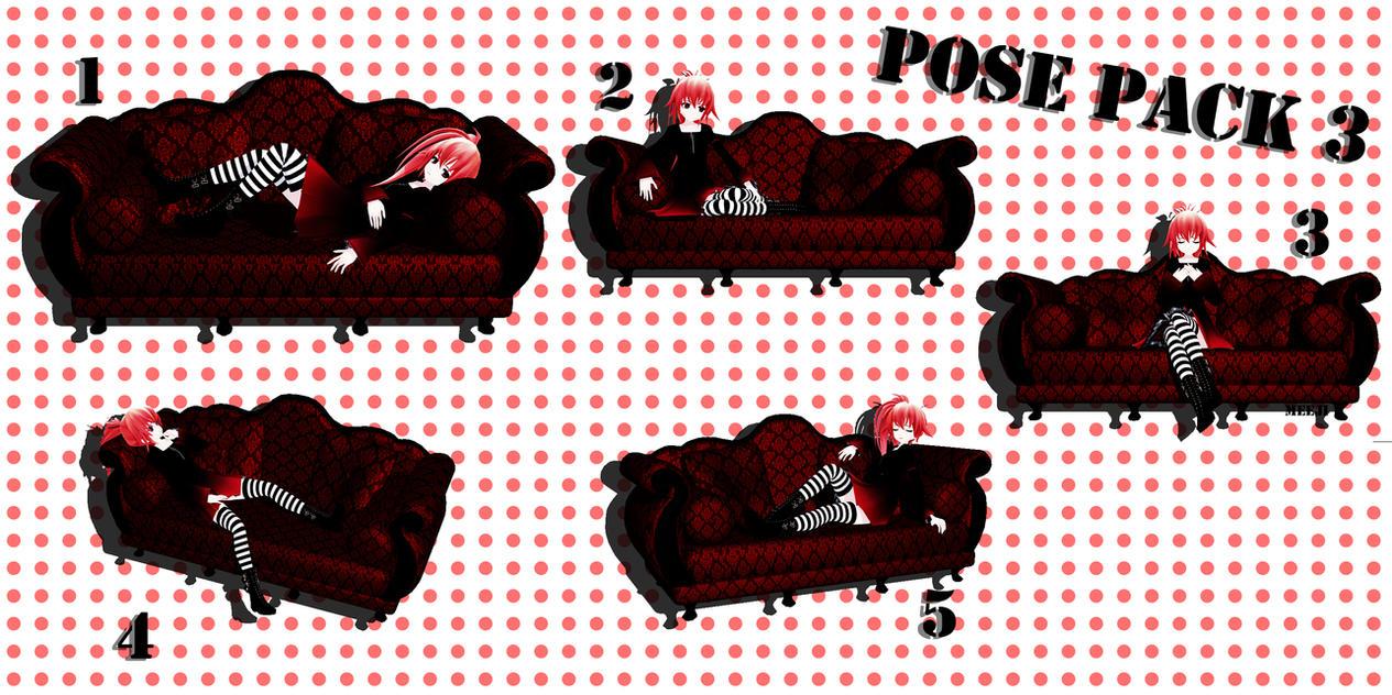 Pose Pack 3 [DL] by Meeji