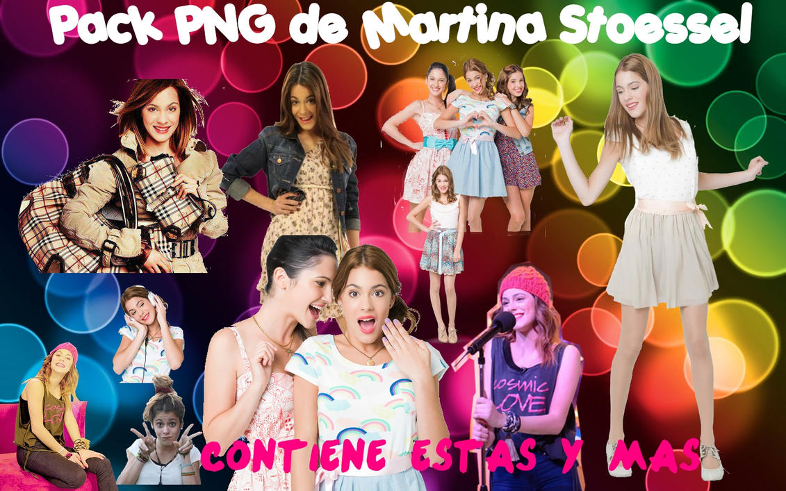 Pack de Fotos.PNG de Martina Stoessel by EugeeTinistaForever
