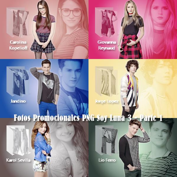 Fotos Promocionales Png Soy Luna 3 Parte 1 By