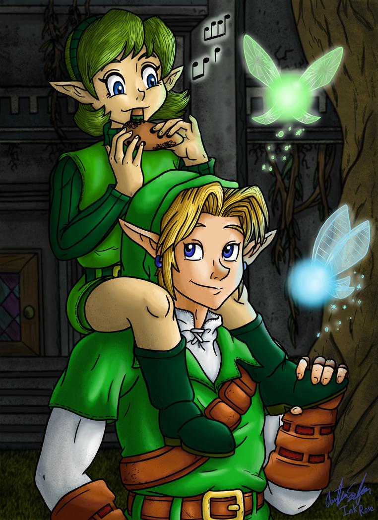 Friends Between Ages A Legend Of Zelda Fanfiction By