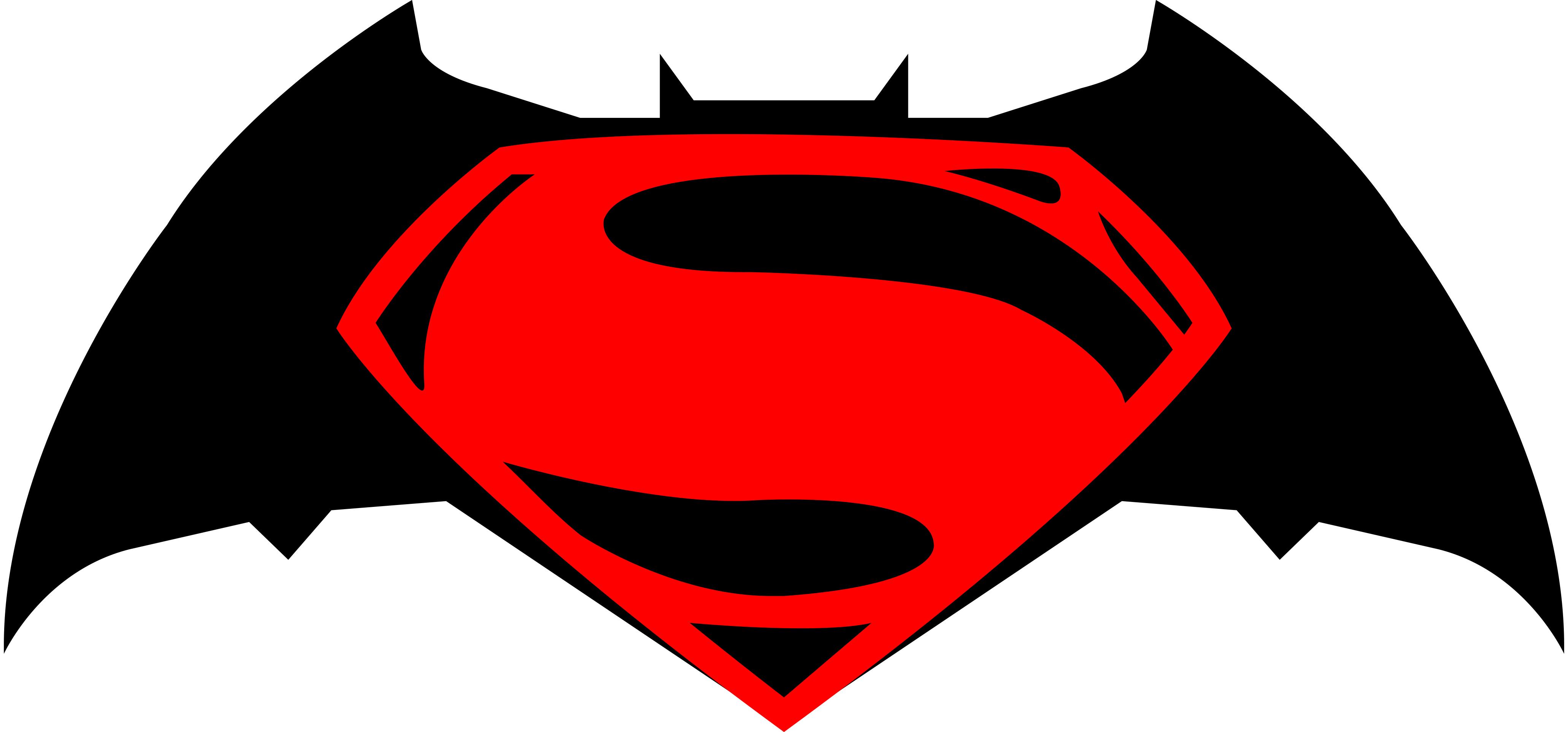 Logo batman vs superman