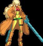 Mitsuru Kirijo Sprite Animation (Samus Aran)