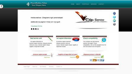 Porfolio site Templates html