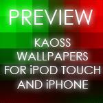 iPhone/iPod KAOSS Wallpapers by Xinorbis