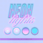 Neon Lights Font Style Pack #2