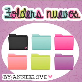 neww folders (150 watchers) by Analaurasam