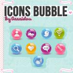 iconos bubble =P (150 watchers)