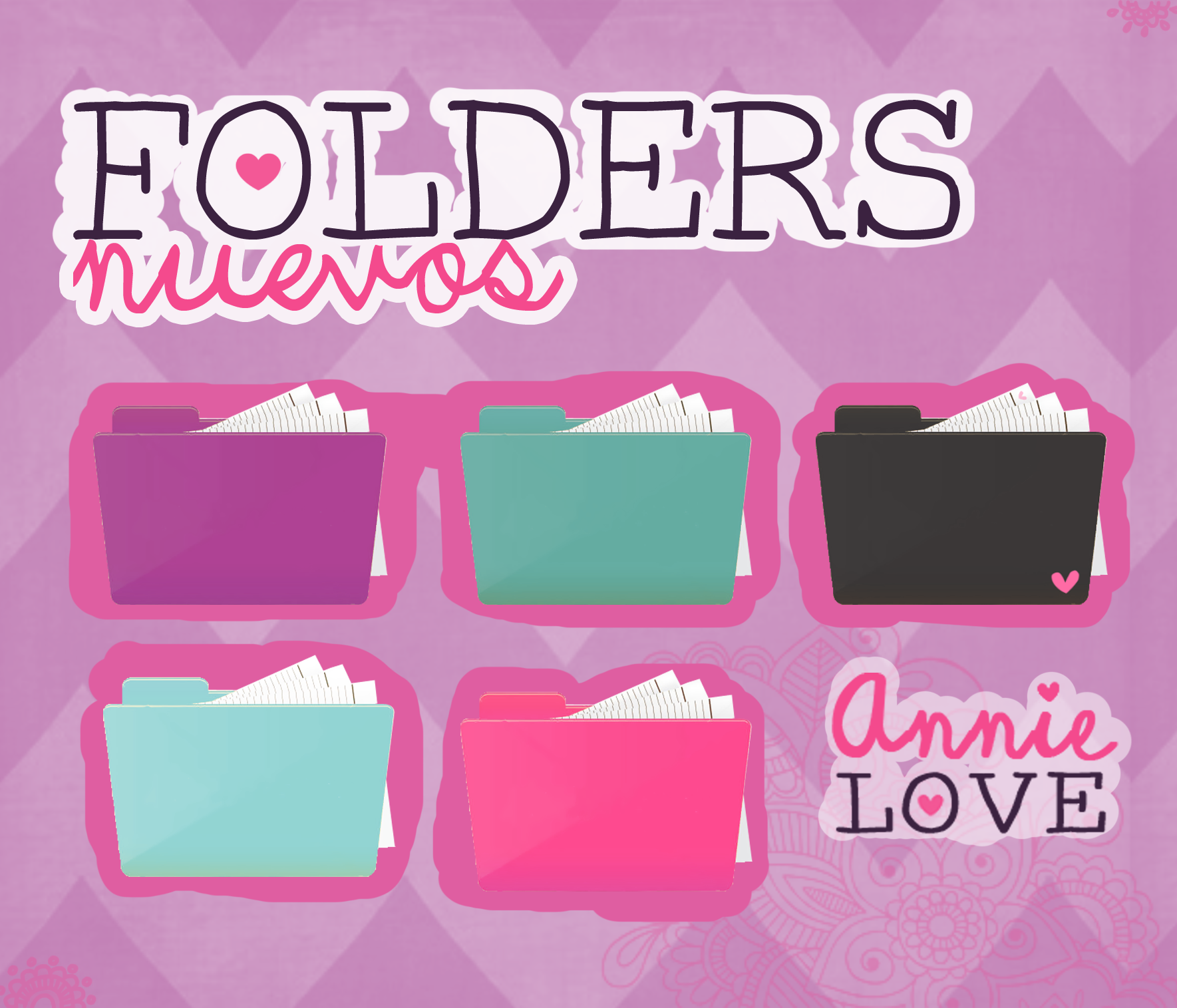 New folders by annielove (151 watchers) by Analaurasam