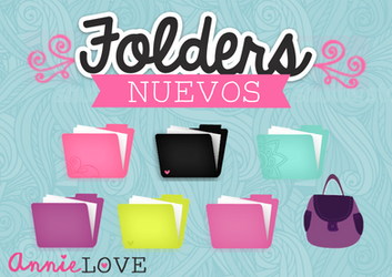 new folders by annielove (mas de 180 sucriptores) by Analaurasam