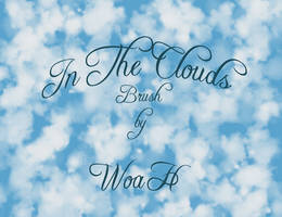 In The Clouds Brush by WingsOfAHero