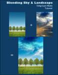 Blending Sky and Landscape