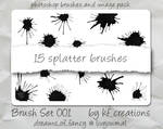 Photoshop brush set 001
