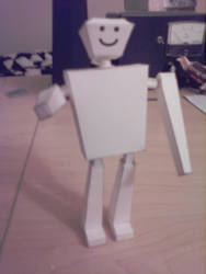 Simple Robot Papercraft