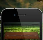 Dark Laminate Dock iPhone 4