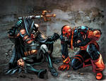 Batman-vs-Deathstroke 11x17 Print
