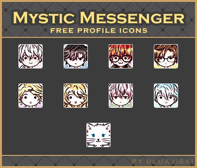 Mystic Messenger | Free icons by BluAjisai