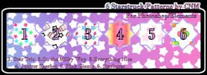 6 Starstruck Patterns by CNM