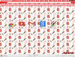 Pocky Party Chrome Theme