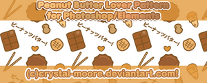 Peanut Butter Lover Pattern by CNM