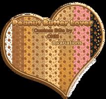 Peanut Butter Lover Custom BGs by CNM