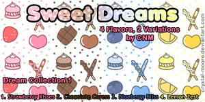 Sweet Dreams Pattern Collection 1 by CNM by Crystal-Moore