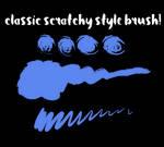 my usual brush !