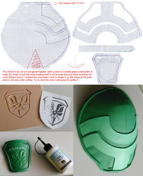 Lightning's Pauldron Downloadable Pattern
