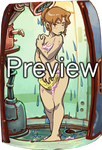 Deponia - Toni in the shower