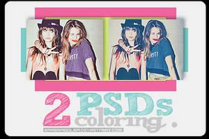 2 PSDs Coloring by BarbraGolba