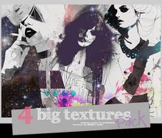 4 Big Fashion Textures by BarbraGolba