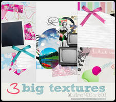3 Big Vintage Textures by BarbraGolba
