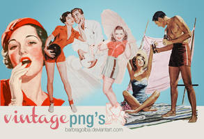 Vintage png's by BarbraGolba