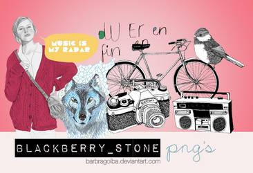 Blackberry Stone PNG's by BarbraGolba