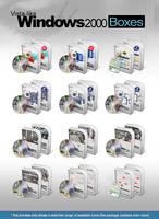 Vista-like Windows 2000 Boxes by MTB-DAB