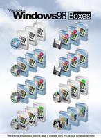 Vista-like Windows 98 Boxes by MTB-DAB