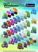 Vista-like Windows Vista Boxes II - Vol.1 by MTB-DAB