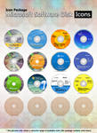 Microsoft Software Disk Icons