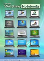 Vista-like Windows Notebook Icons by MTB-DAB