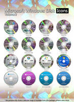 Microsoft Windows Disk Icons - Vol.2 by MTB-DAB