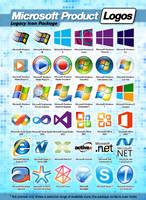 Microsoft Product Logos by MTB-DAB