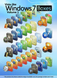 Vista-like Windows 7 Boxes II - Vol.1