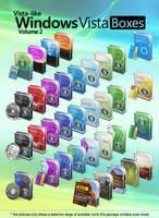Vista-like Windows Vista Boxes II - Vol.2 by MTB-DAB
