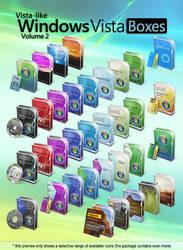 Vista-like Windows Vista Boxes II - Vol.2
