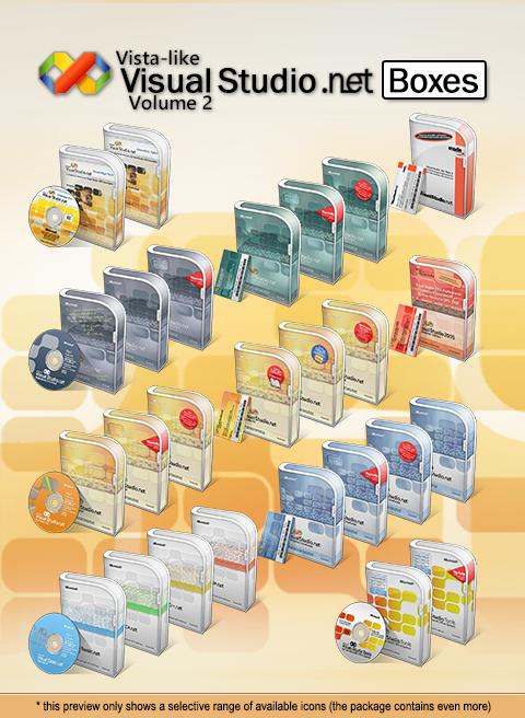Vista-like Visual Studio .NET Boxes - Vol.2 by MTB-DAB on DeviantArt