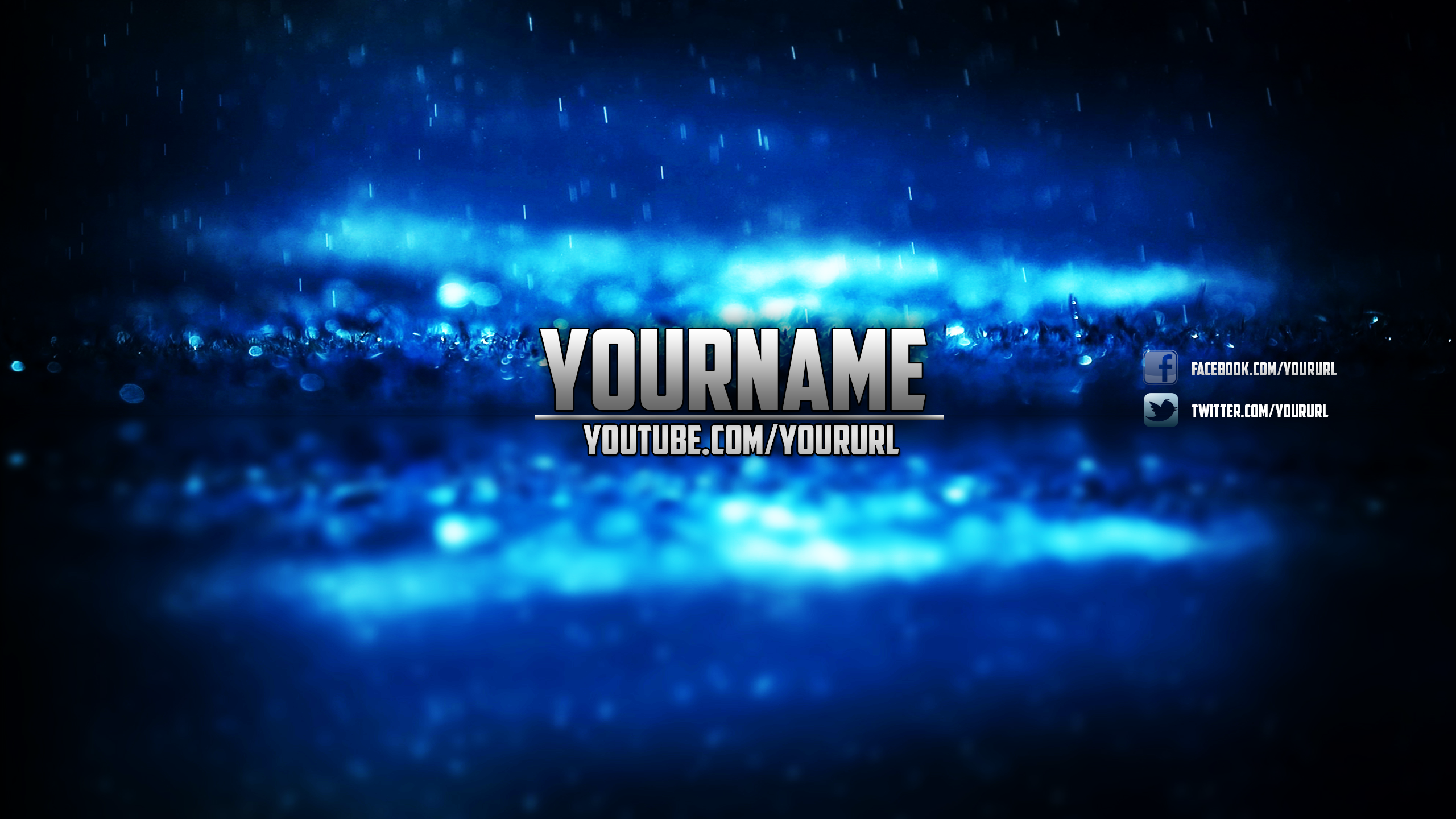 Blue Themed Youtube Cover Art Correct Size By Toomanyspoons On