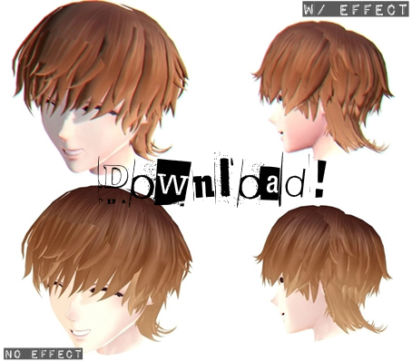 Male Hair Dl By Xmixed On Deviantart