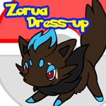 Zorua Dress-Up - Redone by Wyndbain