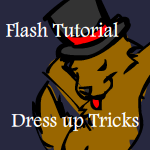 Flash Tut - Dress Up Tricks by Wyndbain